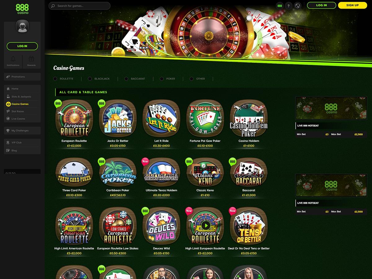 888 Casino Games Itunes