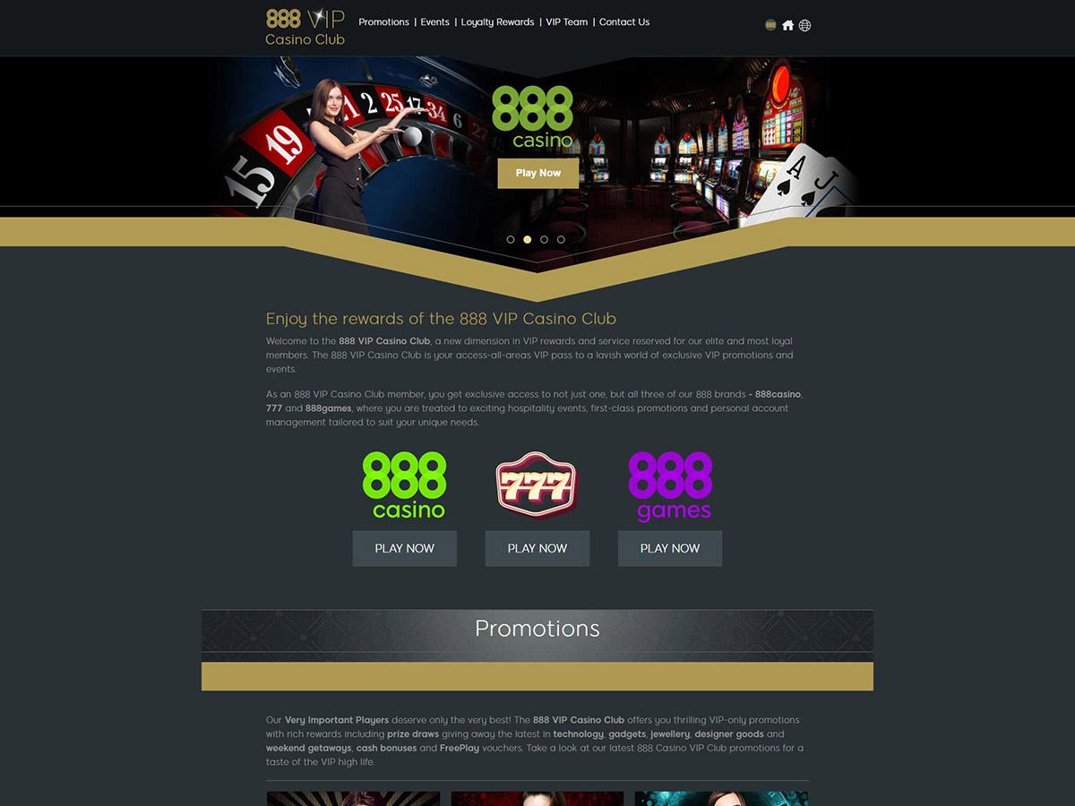 888 Casino VIP Club