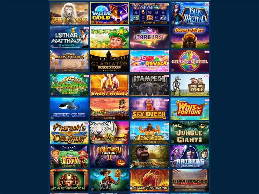 Europa Casino Slot Games List