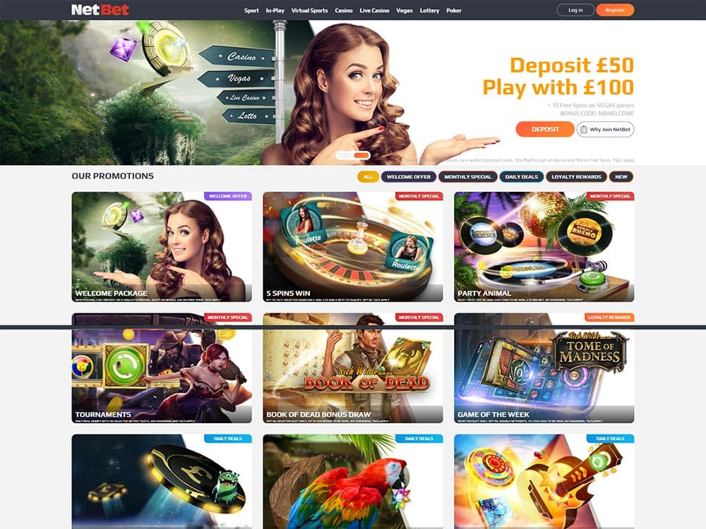 NetBet Casino Promotions