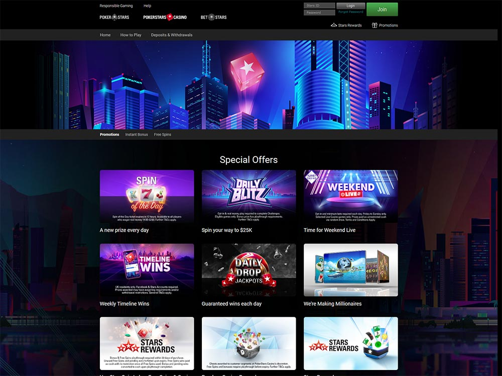PokerStars Casino Promotions
